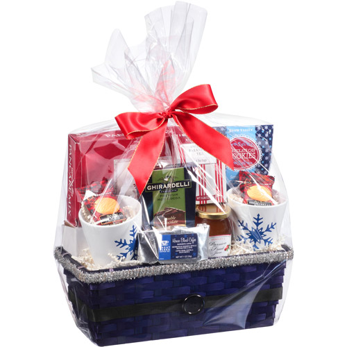 Breakfast for Two  Basket Holiday Gift Set, 10 pc (Color will vary)