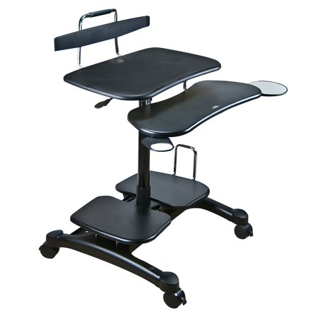 Sit/Stand Mobile PC - Multimedia Mobile Workstation