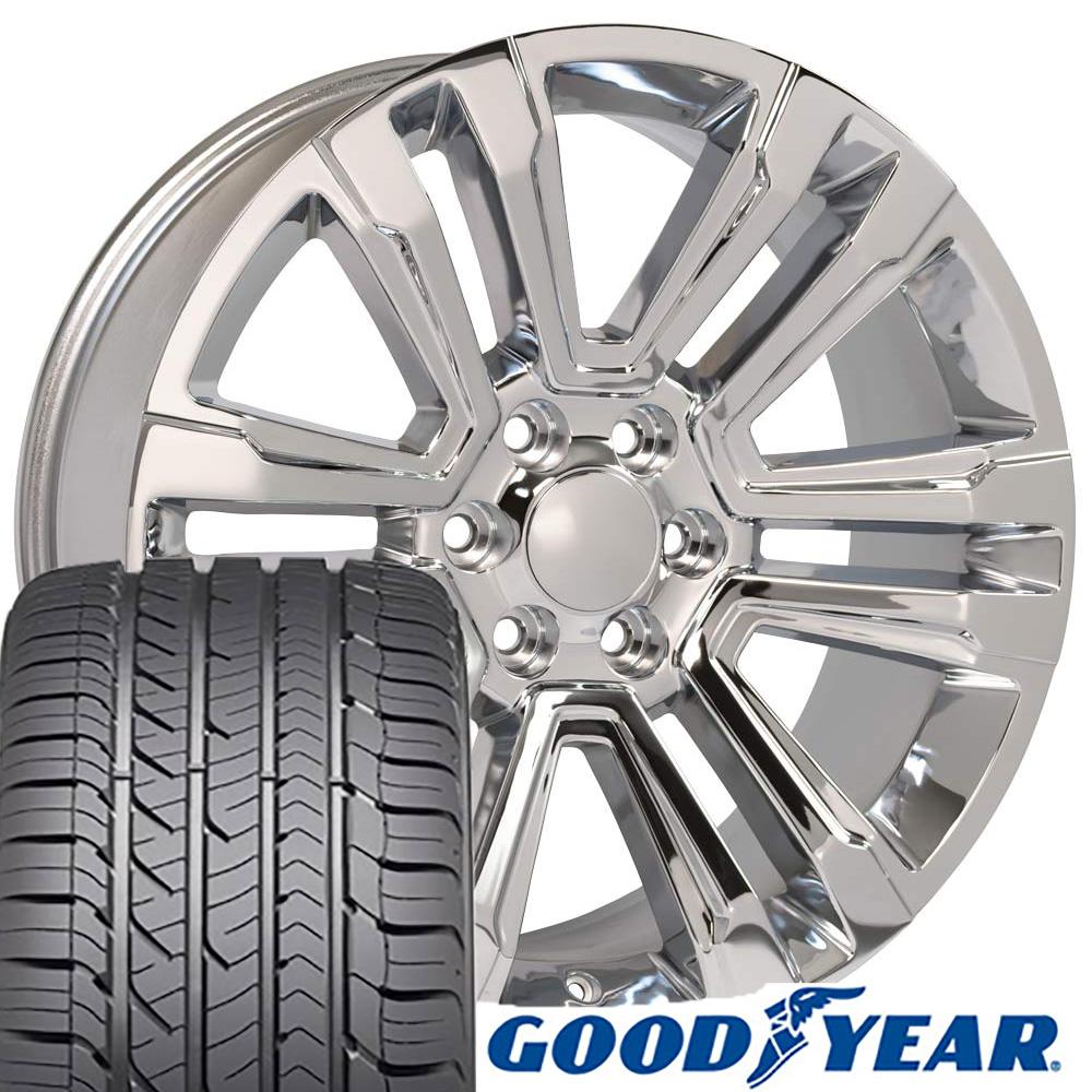 22x9 Wheels Tires Fit Gmc Chevy Trucks And Suvs Gmc Sierra