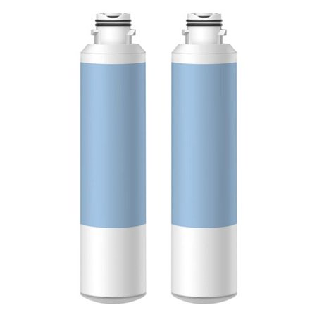 Replacement Water Filter Cartridge for Samsung Refrigerator Models RF4287HARS / RS267TDRS/XAA (2 Pack) (Rf4287hars Xaa Water Filter)