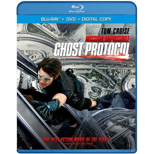 Mission: Impossible - Ghost Protocol (Blu-ray   DVD) (With INSTAWATCH) (Widescreen)