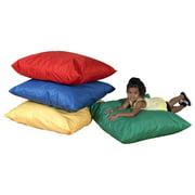 4-Pc Cozy Kids Pillow Set in Multicolor