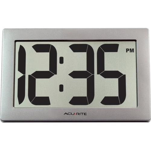 "AcuRite Digital Clock 9.5"" LCD"