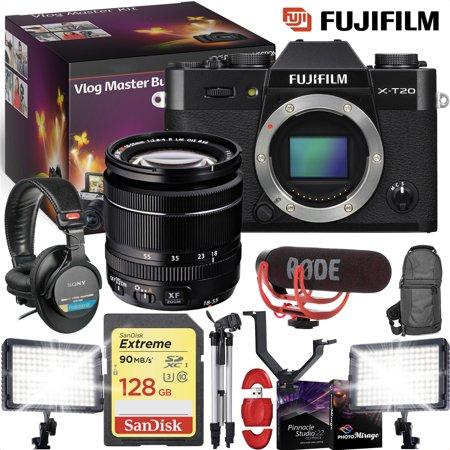 FUJIFILM X-T20 Mirrorless Digital Camera Body Only, Black - VLOG MASTER KIT](Halloween Day Vlog)
