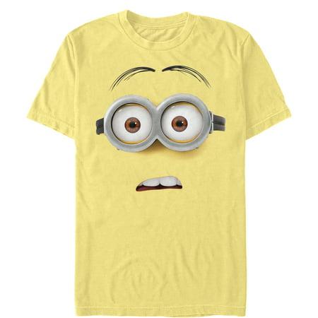 Despicable Me Men's Confused Minion Costume T-Shirt (Minion Costume Shirt)