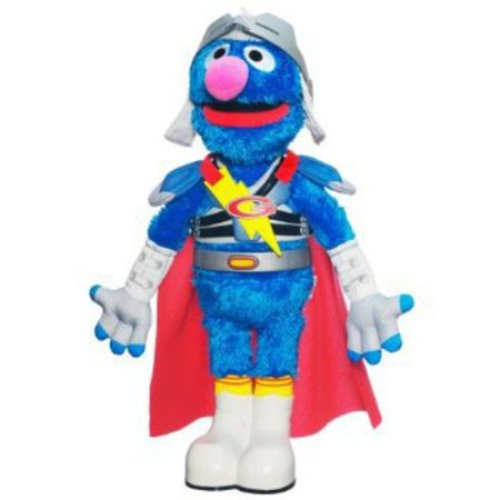 Sesame Street Flying Super Grover - Grover 2.0