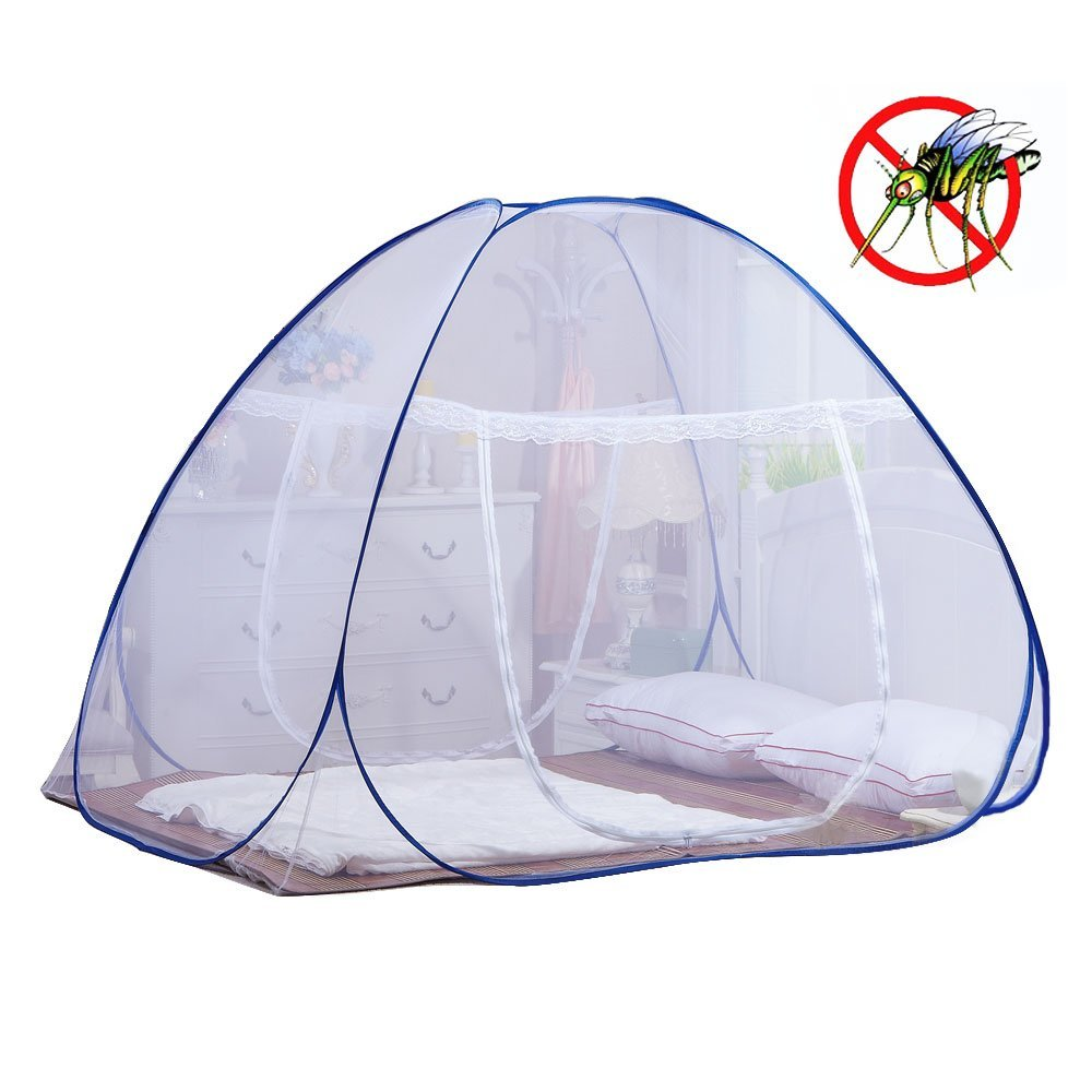 Mosquito Net for Bed | Yoosion Pop Up Mosquito Net Bed Guard Tent Folding Attached Bottom 200*180*150 Moustiquaire Bed... by