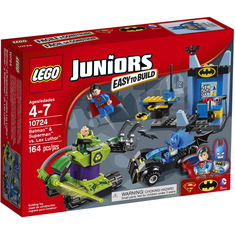 Lego Juniors Batman & Superman vs. Lex Luthor Building Set, 10724 by LEGO Systems, Inc.