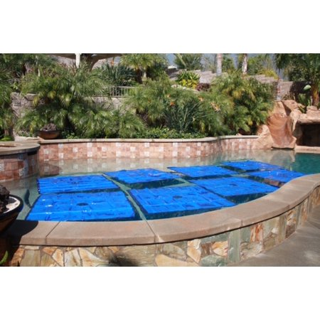 Noair Swimming Pool Solid Blue Solar Heat Squares For All