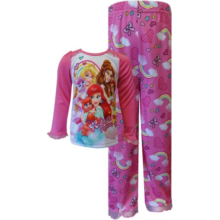 Disney Princesses and Pets Hearts and Rainbows PJs