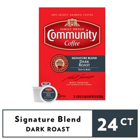 Yuban Traditional Roast K Cup Coffee Pods Caffeinated 24