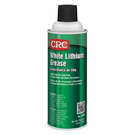 White Lithium Grease,10 oz CRC 03080