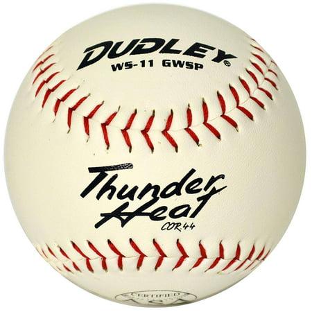 "Dudley ASA Certified Thunder Heat Slow Pitch 11"" Softball One Dozen"