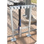 BSN Sports Permanent Bat Rack