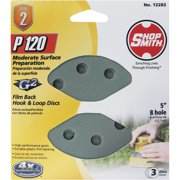 "Shop Smith 3pk 5"" 120g Sand Disc 12283"
