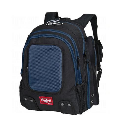 Rawlings Baseball Player Navy Backpack