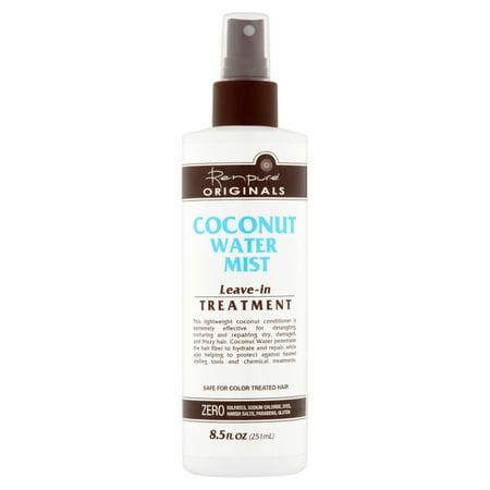 Renpure Originals Coconut Water Mist Leave-In Treatment, 8.5 fl oz (Treatment Mist)