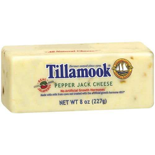 Tillamook Deli Cut Pepper Jack Cheese, 8 oz