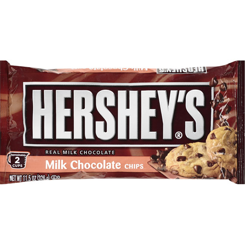 Hershey's Milk Chocolate Chips, 11.5 Oz