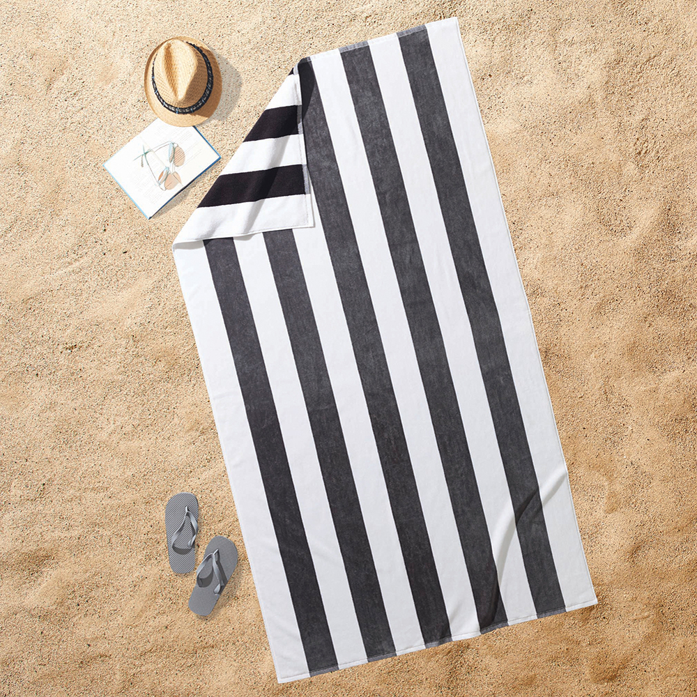 Better Homes and Gardens Striped Resort Beach Towel