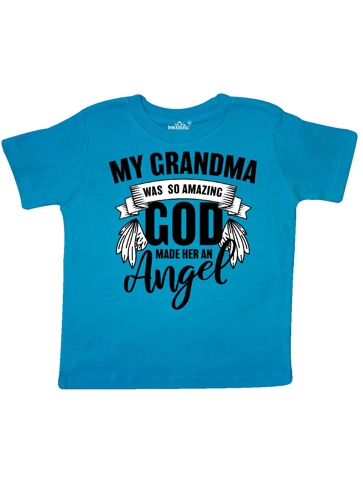 inktastic My Father was So Amazing God Made Him an Angel Toddler T-Shirt