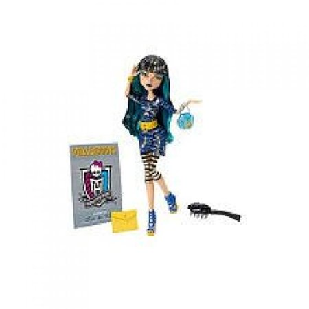 Monster High Cleo De Nile Doll - Cleo De Nile Makeup