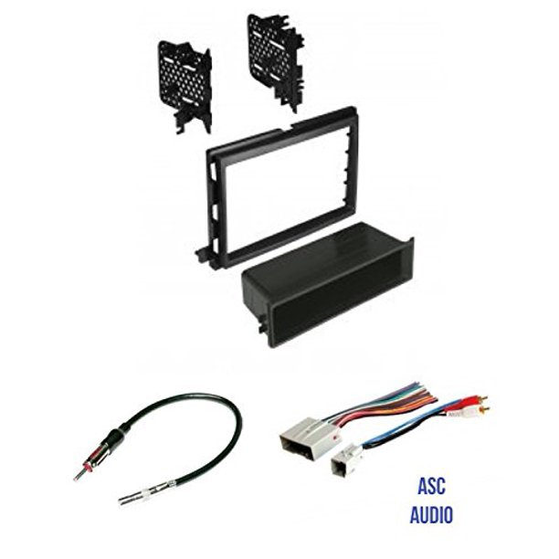 ASC Audio Car Stereo Radio Install Dash Kit, Wire Harness, and Antenna  Adapter to Install an Aftermarket Radio for some Ford Lincoln Mercury  Vehicles - Walmart.com - Walmart.comWalmart