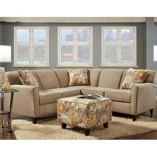 Wildon Home Bellvue Sectional  sc 1 st  Walmart : wildon home sectional - Sectionals, Sofas & Couches