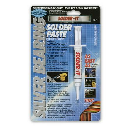 Solder It SP-7 Silver Bearing Solder Paste, 7.1 Gram (Silver Bearing Solder)