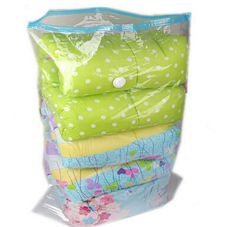 Waterproof Mildew Proof Transparent Travel Vacuum Storage Bags For Clothes Space Saver Packing -