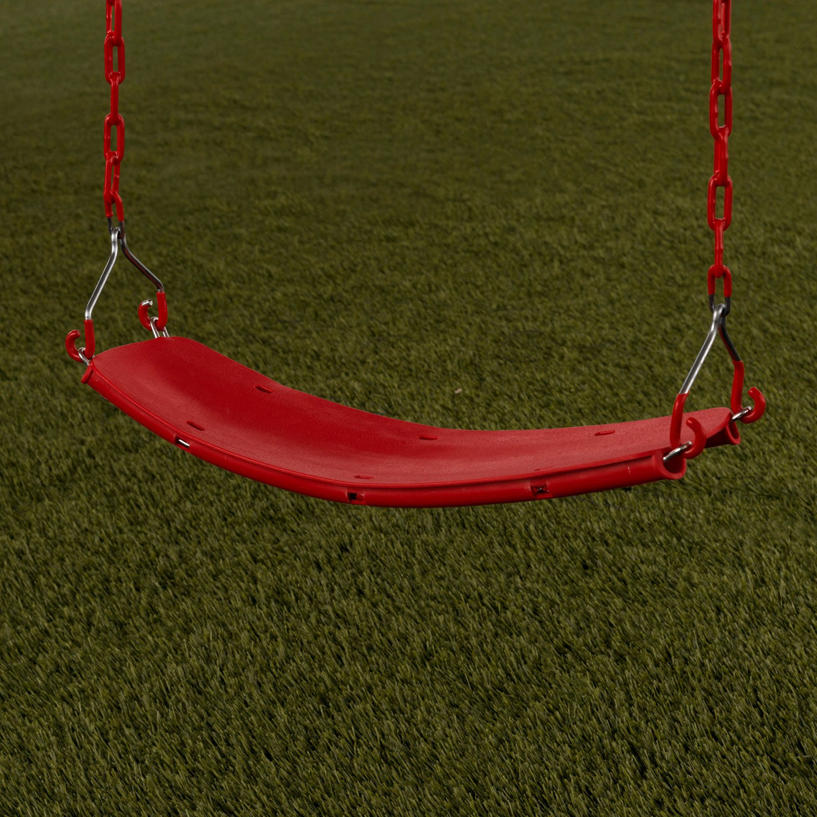Creative Cedar Designs Beginner Swing Seat w/Chains- Red