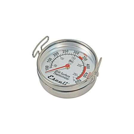 Escali AHG1, Grill Surface Thermometer, 100°F to 550°F, NSF -