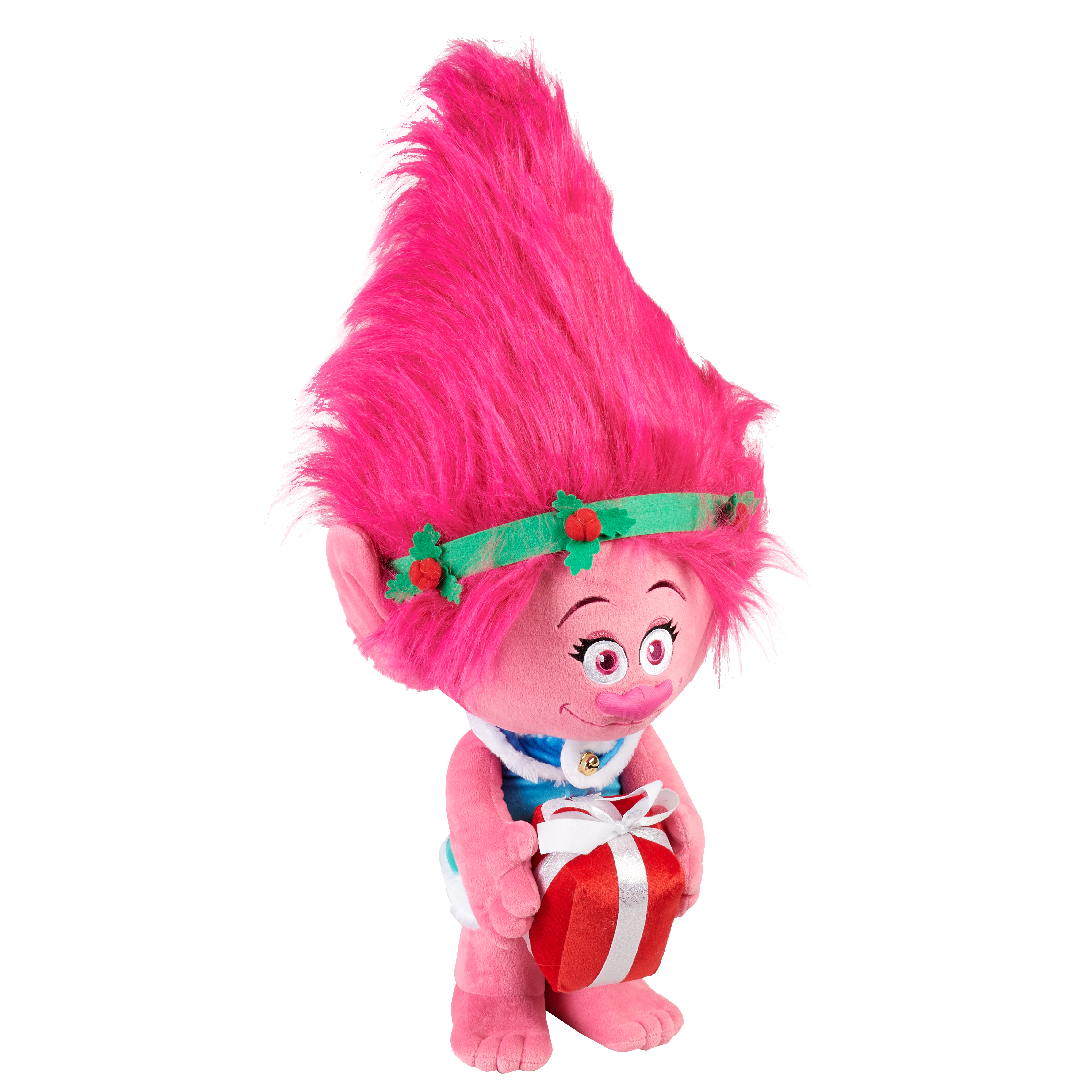 Holiday Time Poppy the Troll Porch Greeter