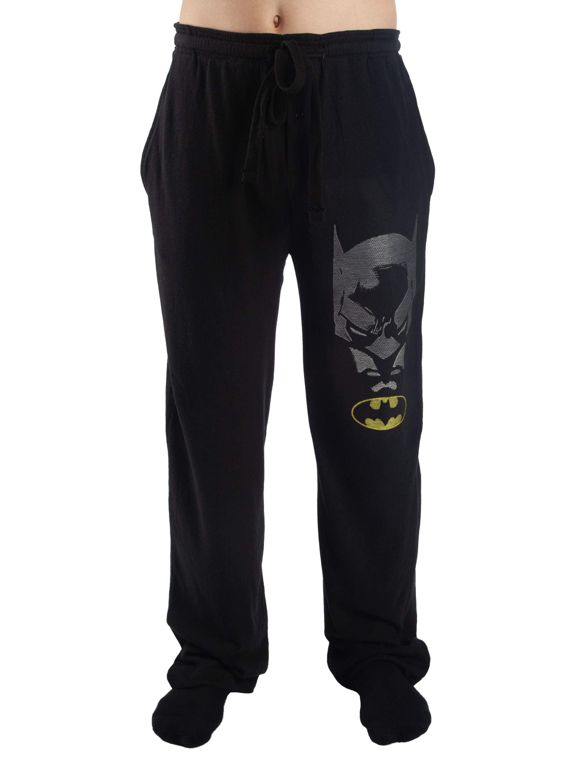 Men's Batman Printed Embroidery Pajama Lounge Pants