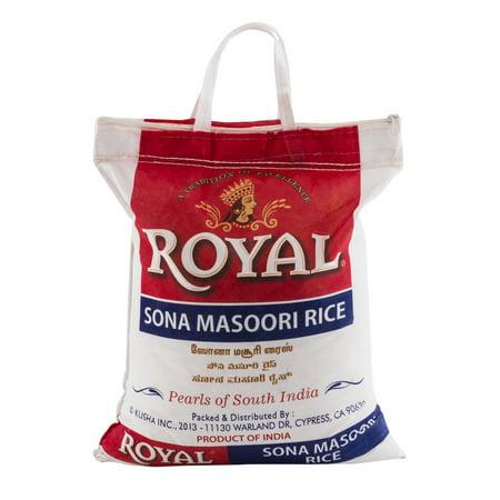 Royal Sona Masoori Rice Pearls of South India, 20.0 (Best Sona Masoori Rice In Usa)