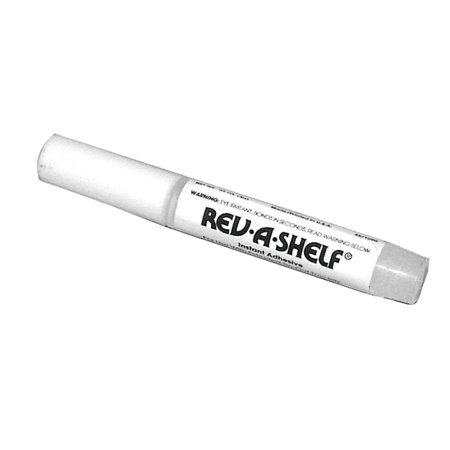 Tray Front Cover - Rev-A-Shelf 6571-60-52 6551 Series 2 Gram Tube of Adhesive for Sink Front Tip Out Trays