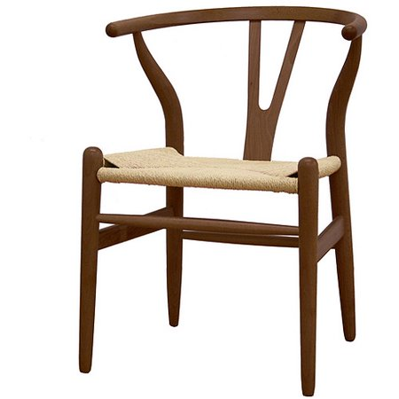 Baxton Studio Wishbone Wood Chair, Multiple Colors