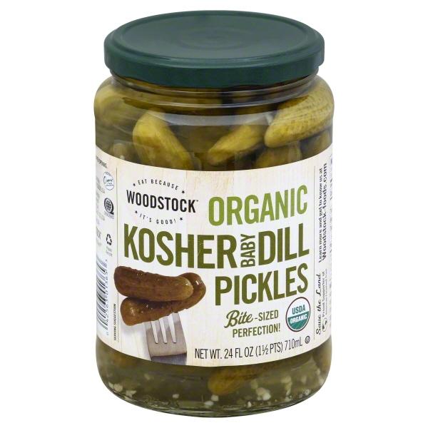 Woodstock Woodstock  Pickles, 24 oz