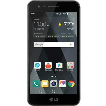 Old School Cell Phone (LG phoenix 3 Gophone AT&T Prepaid Mobile Phone w/ 16 GB Internal)