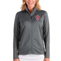 Colorado Rapids Antigua Women's Passage Full-Zip Jacket - Silver/Charcoal
