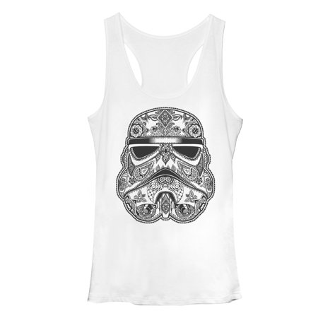 Star Wars Women's Henna Stormtrooper Racerback Tank Top - Stormtrooper Suits For Sale