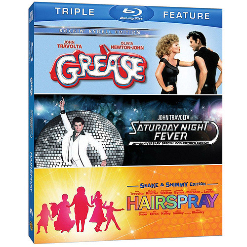 Grease / Saturday Night Fever / Hairspray (Blu-ray) (Widescreen)