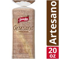 Sara Lee Original Artesano Bakery Bread, Thick Slices & Soft Texture, 20 oz