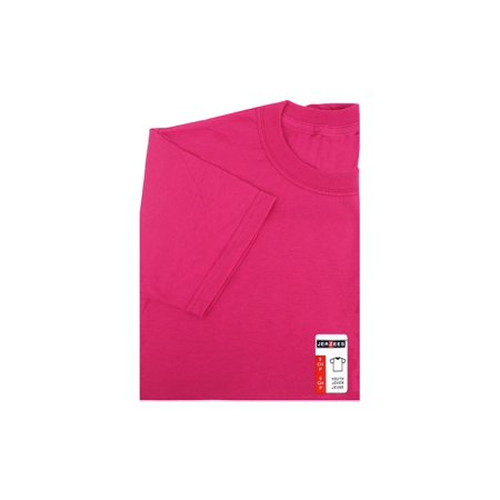 Jerzees Tshirt Youth Small Cyber Pink - image 1 of 1