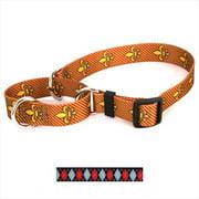 Yellow Dog Design M-RA101S Red Argyle Martingale Collar - Small