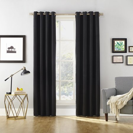 Sun Zero Baxter Home Theater Grade Extreme Blackout Curtain (Sun Micro Systems Graphics)