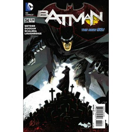 DC The New 52 #34 Batman