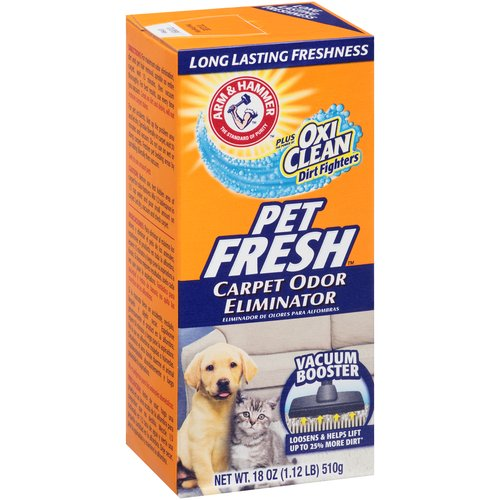 ARM & HAMMER Pet Fresh Carpet Odor Eliminator, 18 oz