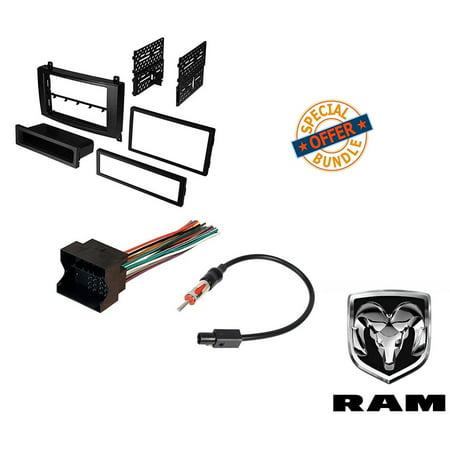 Dodge Sprinter Van Radio Stereo Dash Mounting Install Kit+Wire - Van Dish