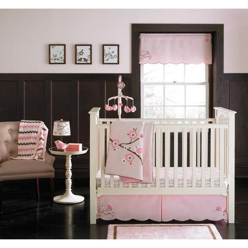MiGi - Blossom Collection 3-Piece Crib Bedding Set